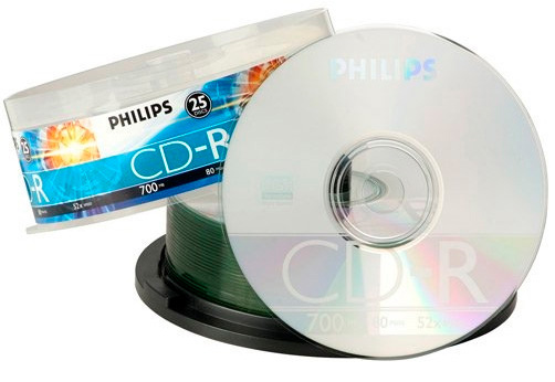 Mídias de CD Philips